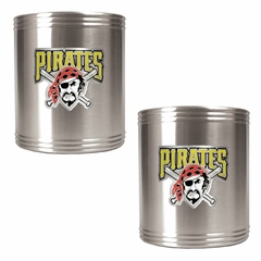 Pittsburgh Pirates 2 Can Holder Set