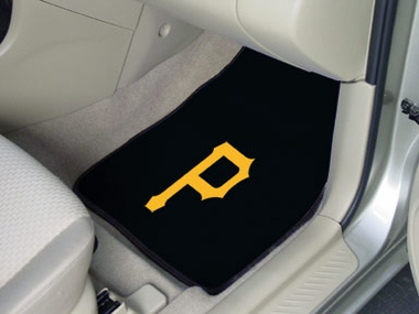 Pittsburgh Pirates 2 Piece Car Mats