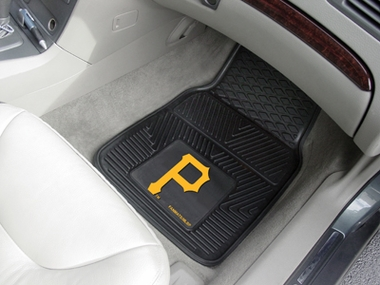 Pittsburgh Pirates 2 Piece Heavy Duty Vinyl Car Mats