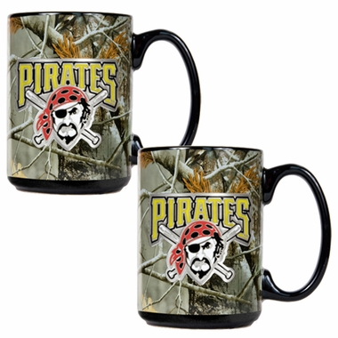 Pittsburgh Pirates 2 Piece Open Field Coffee Mug Set
