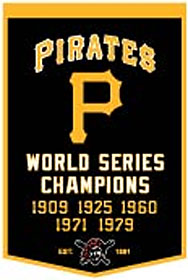"Pittsburgh Pirates 24""x36"" Wool Dynasty Banner"