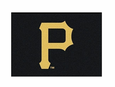 "Pittsburgh Pirates 3'10"" x 5'4"" Premium Spirit Rug"
