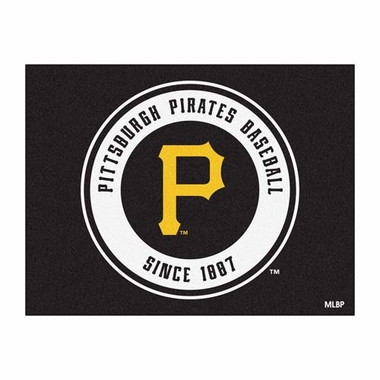 Pittsburgh Pirates 34 x 45 Rug
