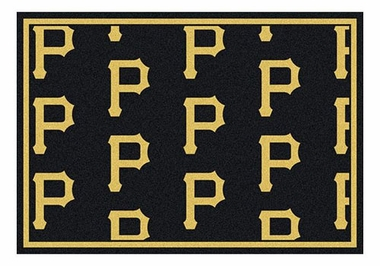 "Pittsburgh Pirates 5'4"" x 7'8"" Premium Pattern Rug"