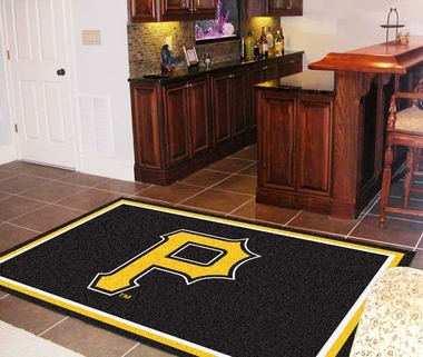 Pittsburgh Pirates 5 Foot x 8 Foot Rug