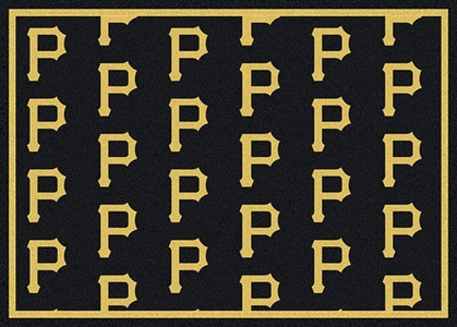 "Pittsburgh Pirates 7'8 x 10'9"" Premium Pattern Rug"