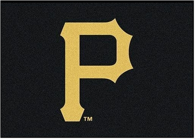 "Pittsburgh Pirates 7'8"" x 10'9"" Premium Spirit Rug"