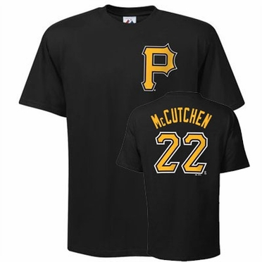 Pittsburgh Pirates Andrew McCutchen Name and Number T-Shirt