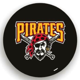 Pittsburgh Pirates Black Tire Cover (Small Size)