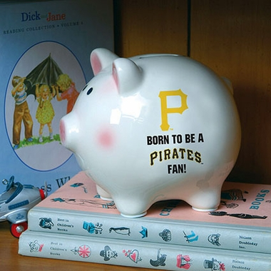 Pittsburgh Pirates (Born to Be) Piggy Bank