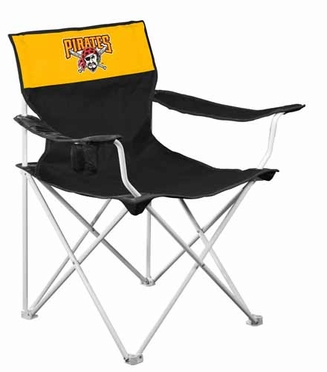 Pittsburgh Pirates Canvas Adult Folding Logo Chair