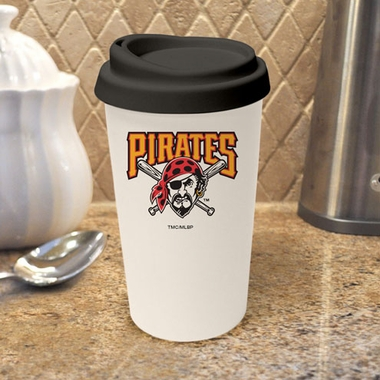 Pittsburgh Pirates Ceramic Travel Cup