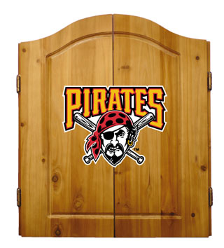 Pittsburgh Pirates Complete Dart Cabinet