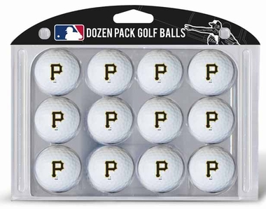 Pittsburgh Pirates Dozen Golf Balls