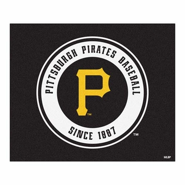 Pittsburgh Pirates Economy 5 Foot x 6 Foot Mat