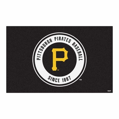 Pittsburgh Pirates Economy 5 Foot x 8 Foot Mat
