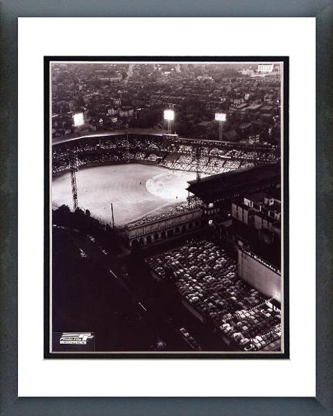 Pittsburgh Pirates Forbes Field Night Shot 16x20 Framed