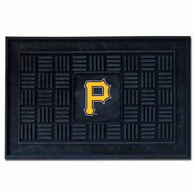 Pittsburgh Pirates Heavy Duty Vinyl Doormat