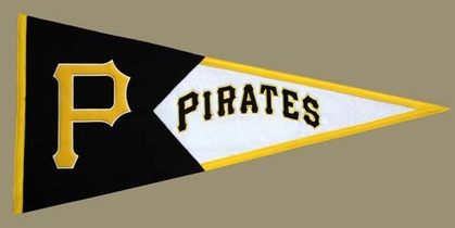 Pittsburgh Pirates Large Wool Pennant