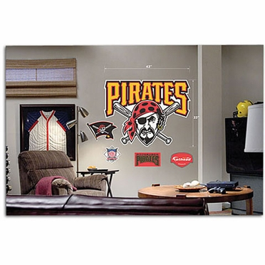 Pittsburgh Pirates Logo Fathead Wall Graphic