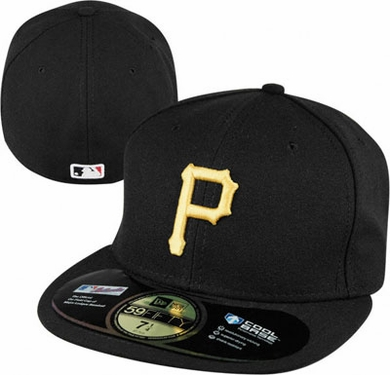 Pittsburgh Pirates New Era 59Fifty Authentic Exact Fit Baseball Cap