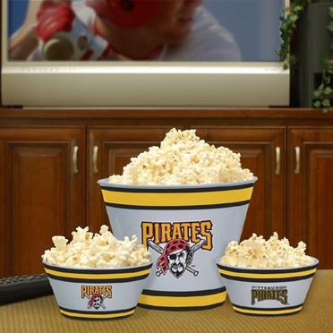 Pittsburgh Pirates Plastic Serving Set