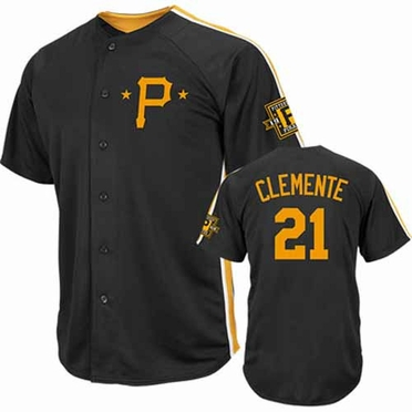 Pittsburgh Pirates Roberto Clemente Crosstown Rivalry Cooperstown Jersey