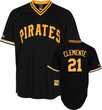 Pittsburgh Pirates Roberto Clemente Replica Throwback Jersey