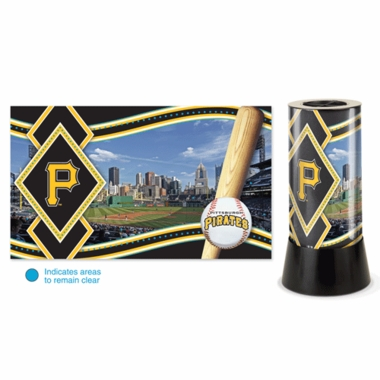 Pittsburgh Pirates Rotating Lamp
