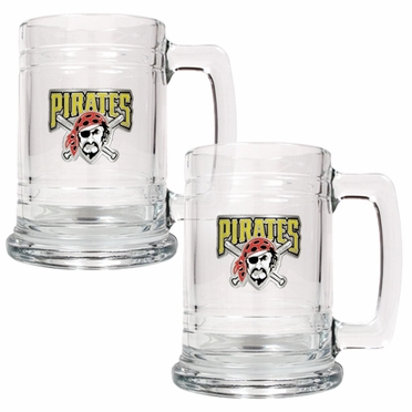 Pittsburgh Pirates Set of 2 15 oz. Tankards