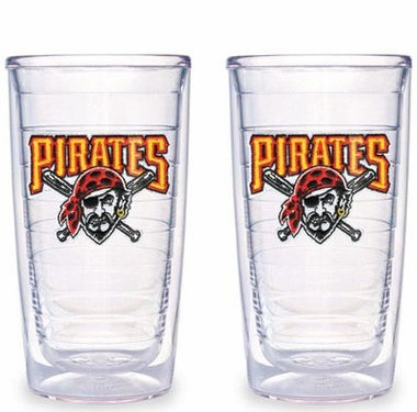 Pittsburgh Pirates Set of TWO 16 oz. Tervis Tumblers