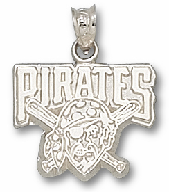 Pittsburgh Pirates Sterling Silver Pendant