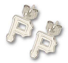 Pittsburgh Pirates Sterling Silver Post or Dangle Earrings