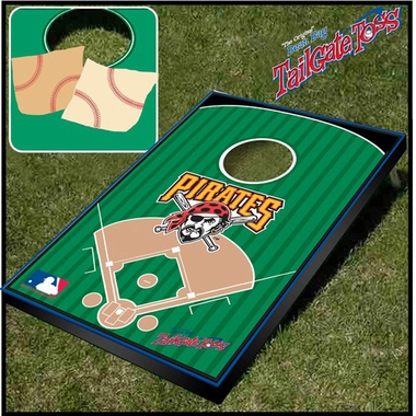Pittsburgh Pirates Tailgate Toss Cornhole Beanbag Game