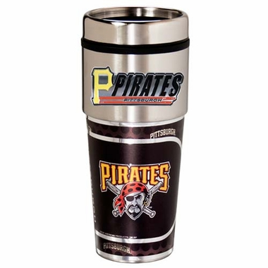 Pittsburgh Pirates Travel Tumbler with Hi-Def Graphics