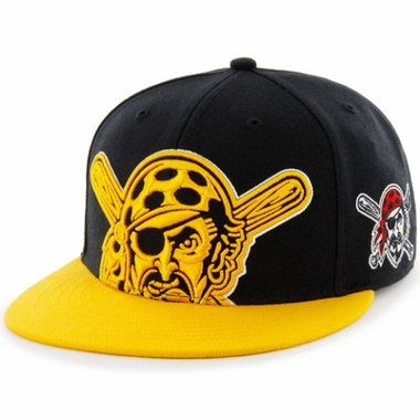 Pittsburgh Pirates Two Tone Colossal Snap Back Hat