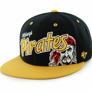 Pittsburgh Pirates Underglow MVP Snap Back Hat