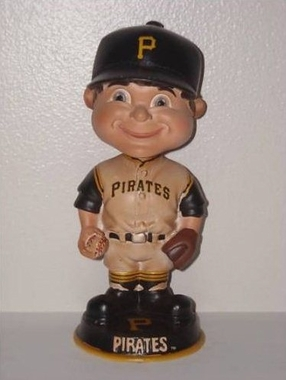 Pittsburgh Pirates Vintage Retro Bobble Head