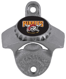 Pittsburgh Pirates Wall Mount Bottle Opener