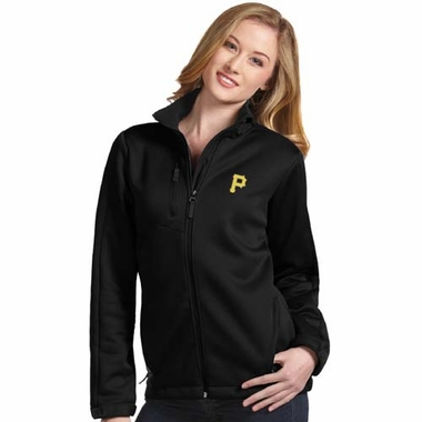 Pittsburgh Pirates Womens Traverse Jacket (Team Color: Black)