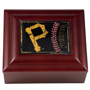 Pittsburgh Pirates Wooden Keepsake Box