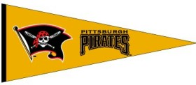 Pittsburgh Pirates Wool Pennant