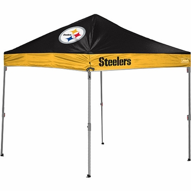 Pittsburgh Steelers 10 x 10 Straight Leg Shelter