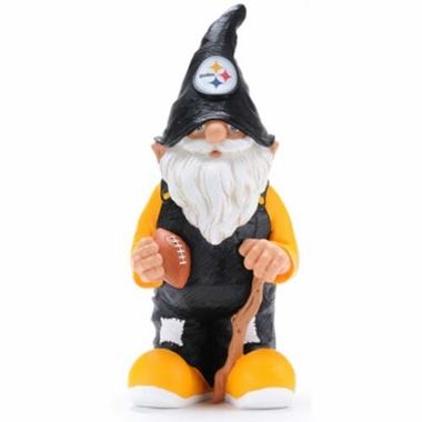 "Pittsburgh Steelers Garden Gnome - 11"" Male"