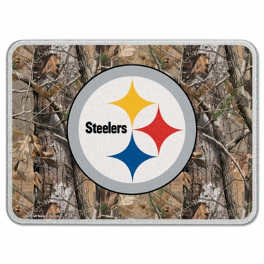 Pittsburgh Steelers 11 x 15 Glass Cutting Board (Realtree)