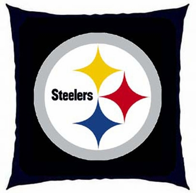 Pittsburgh Steelers 15 Inch Applique Pillow
