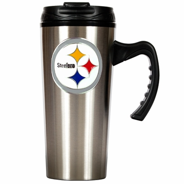 Pittsburgh Steelers 16 oz. Thermo Travel Tumbler (Slim)