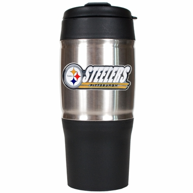 Pittsburgh Steelers Heavy Duty Travel Tumbler