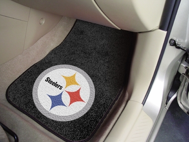 Pittsburgh Steelers 2 Piece Car Mats