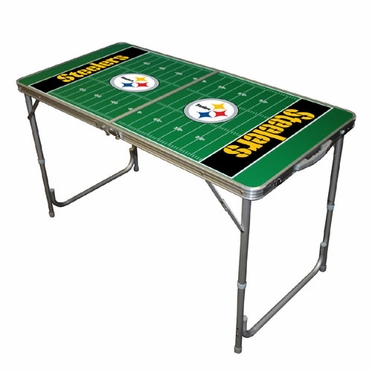 Pittsburgh Steelers 2 x 4 Foot Tailgate Table